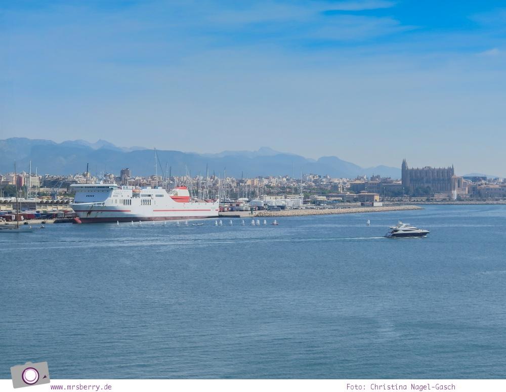Norwegian Epic - Einlaufen im Hafen von Palma de Mallorca