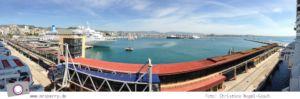 Norwegian Epic - Panorama im Hafen von Palma de Mallorca