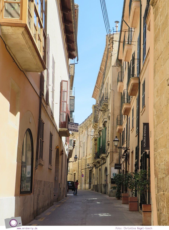 Norwegian Epic - Landgang in Palma de Mallorca: Gassen in Palma