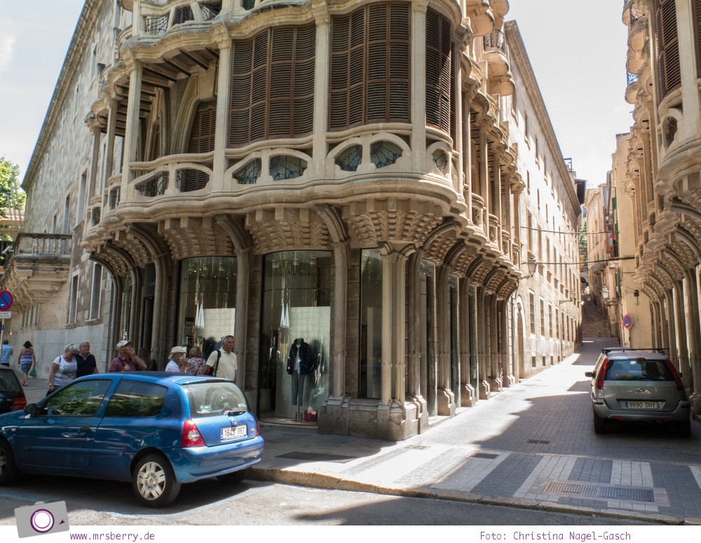 Norwegian Epic - Landgang in Palma de Mallorca: Gaudi und die Jugendstil Häuser in Palma