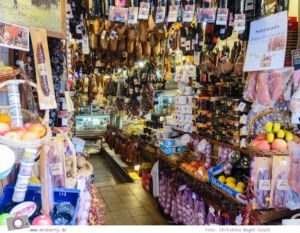 Norwegian Epic - Landgang in Palma de Mallorca: Souvenier-Shopping - Sobrasada Colmado Santo Domingo