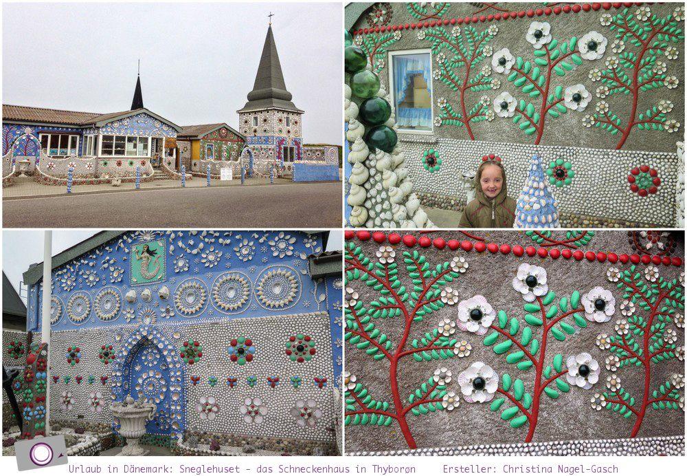 Urlaub in Dänemark: Tipps für den Limfjord - Sneglehuset - das Schneckenhaus in Thyborøn