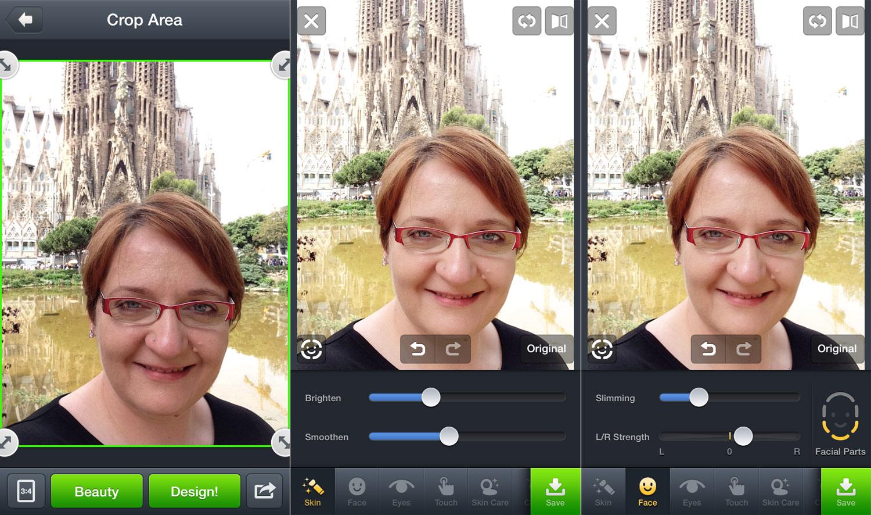 Die besten Foto Apps: Line camera - Beauty