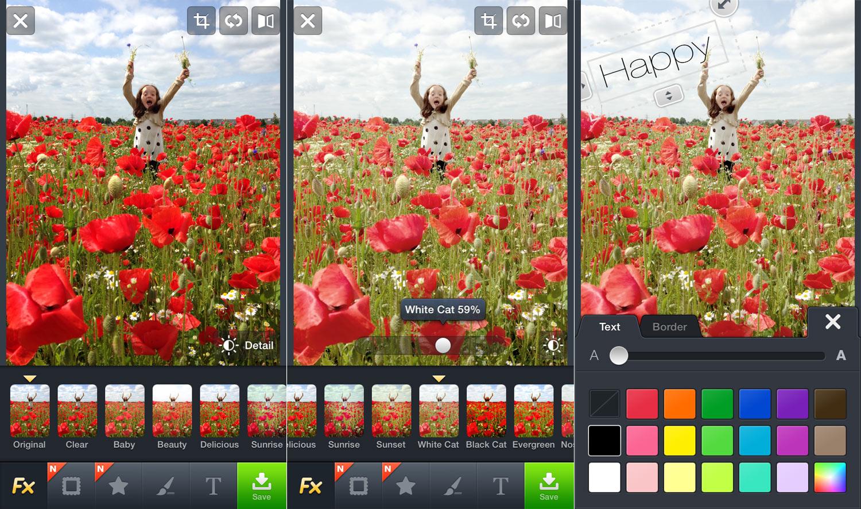 Die besten Foto Apps: Line camera - Design