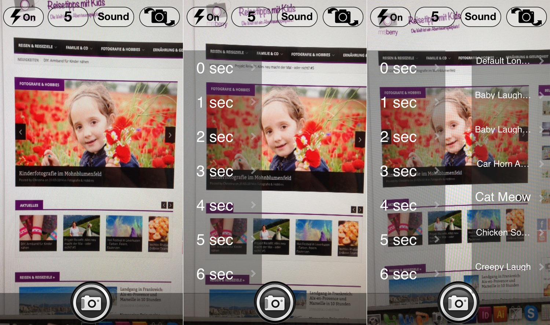 Die besten Foto Apps: Self Camera HD