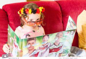 Fussball WM mit Kind