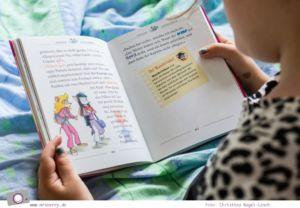 Kinderbuch Tipp für Erstleser: Die Thea Sisters und der Drachencode