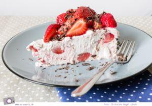 Rezept Erdbeer-Eistorte