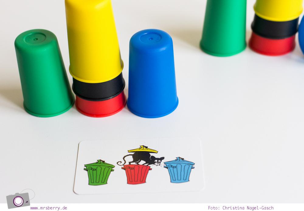 Spiele Test: Speed Cups2 von Amigo - praktisches Reisespiel