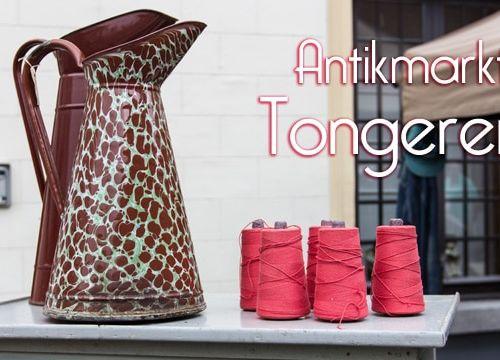 Flohmarkt Liebe: Antikmarkt in Tongeren, Belgien