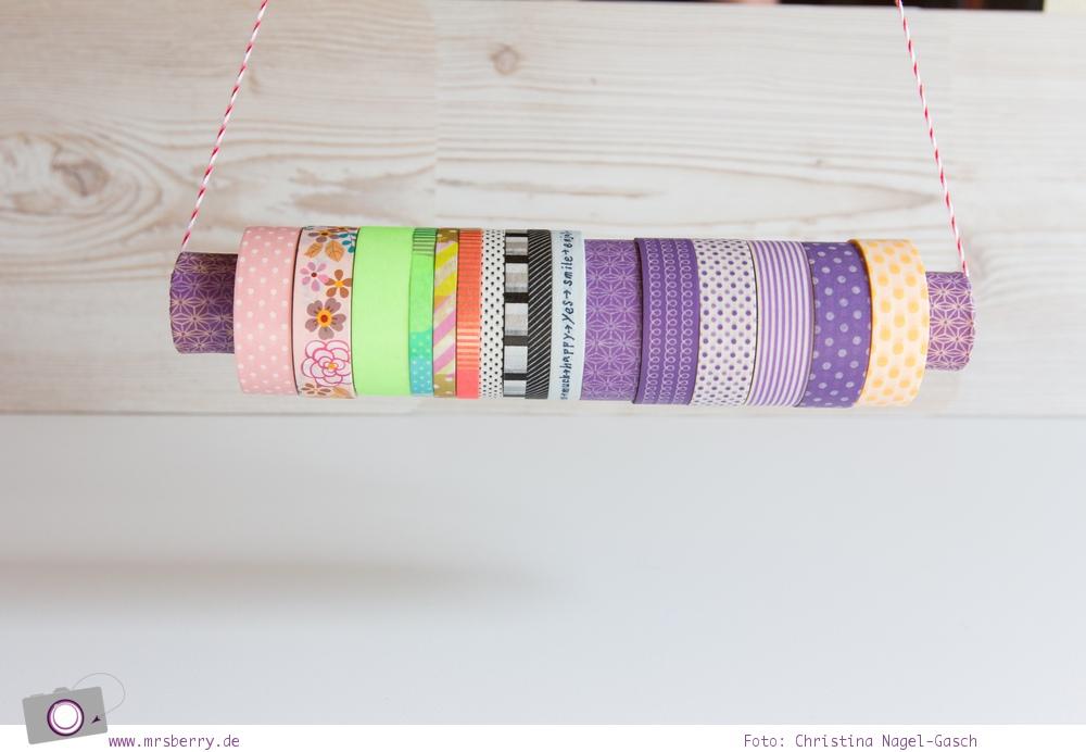 DIY: Aufbewahrung für Wahsi Tape / Masking Tape basteln