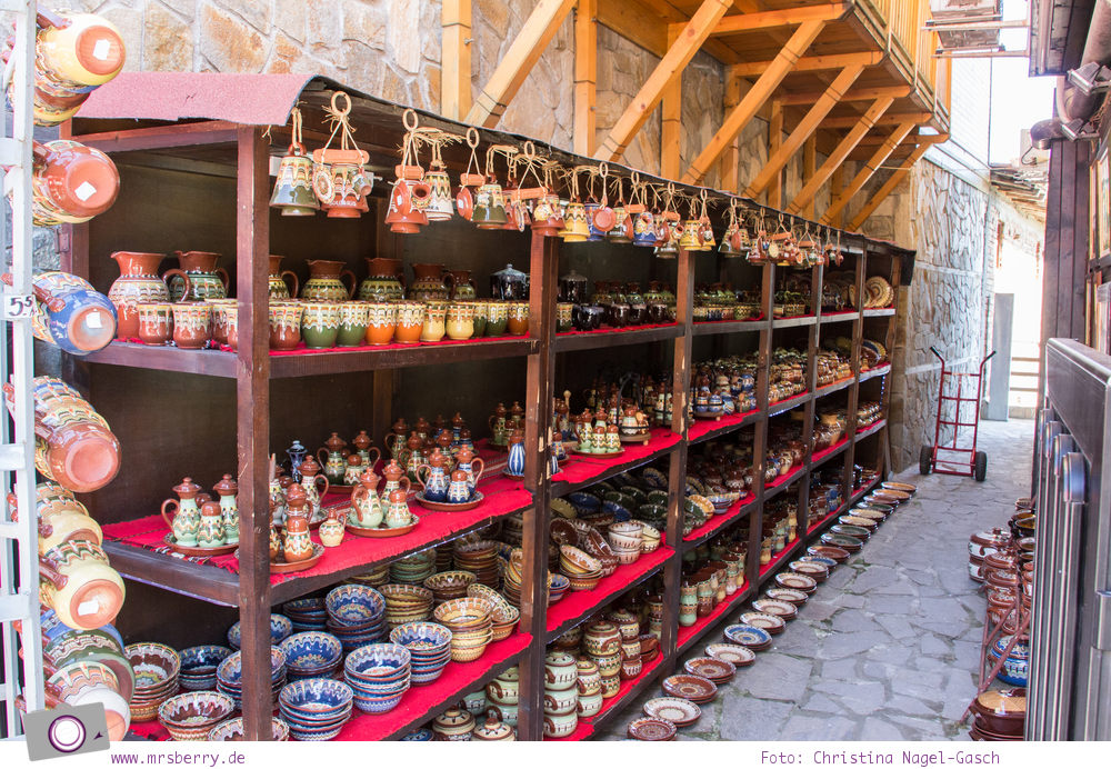 Kultur und Tradition in Bulgarien - Keramik in Sozopol