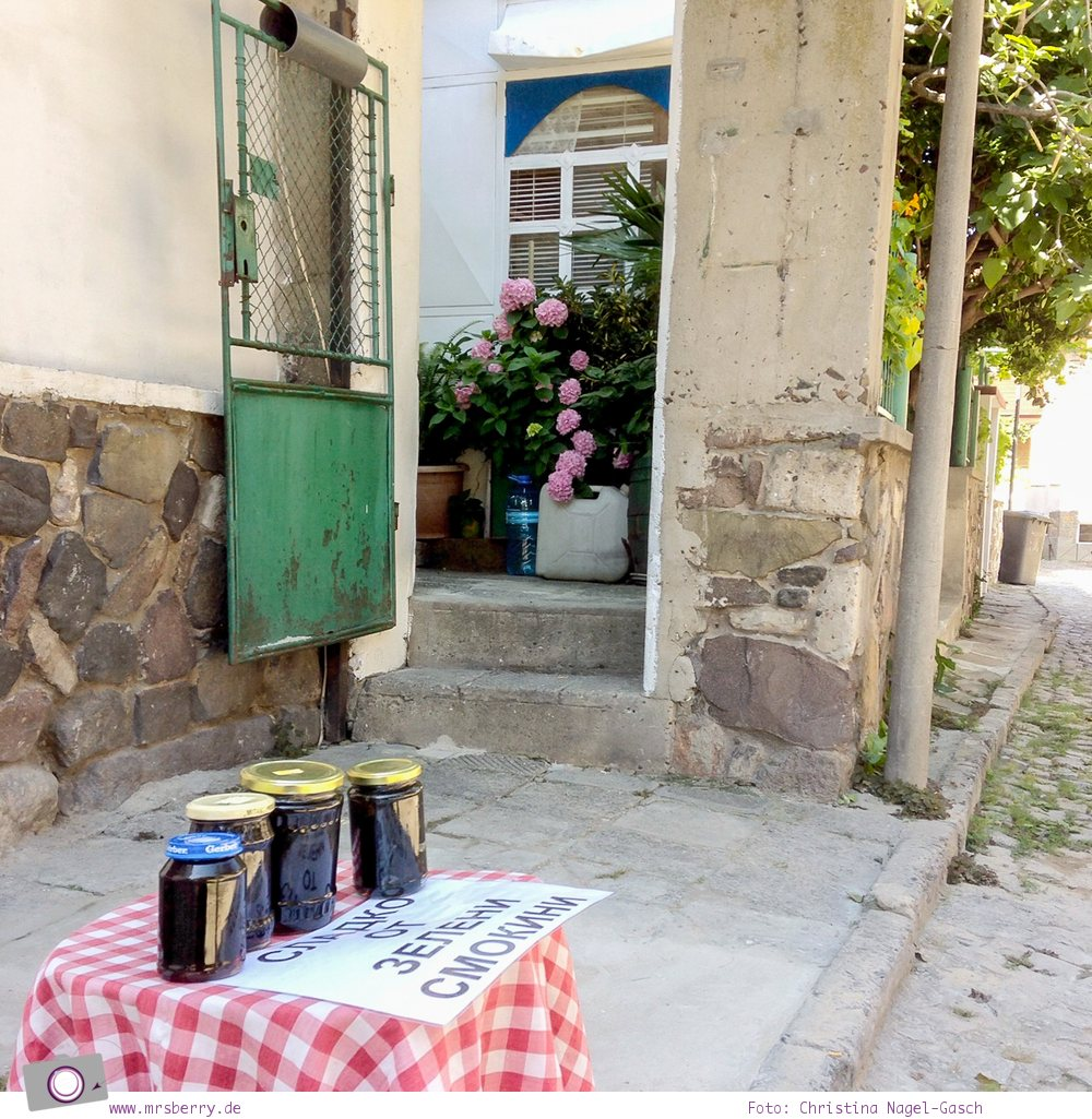 Kultur und Tradition in Bulgarien - hausgemachte Feigenmarmelade in Sozopol