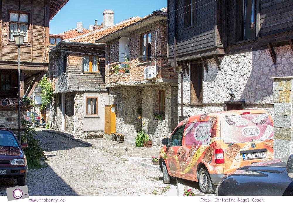 Historische Altstadt von Sozopol, Bulgarien