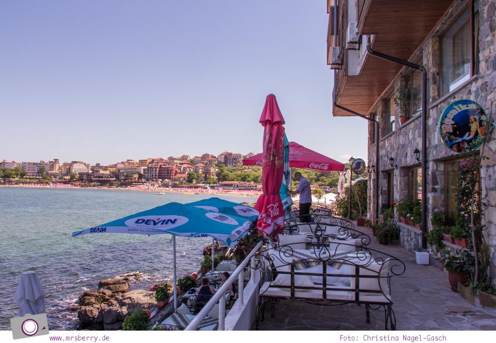 Romantisches Bulgarien - gemütliche Küstencafés laden zum Verweilen ein