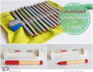 Grundschule: Schreiben lernen mit LAMY – Schreiblernstift, Schreiblernfüller und Farbstifte Set