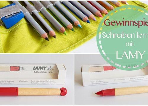 Schreiben lernen mit dem LAMY abc Schreiblernfüller