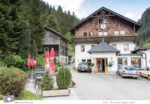 Eindrücke aus Hall-Wattens in Tirol - Hüttenabend im Gasthof Säge