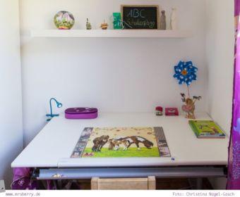 Kinderschreibtisch Paidi: der richtige Schreibtisch für Kinder zur Einschulung