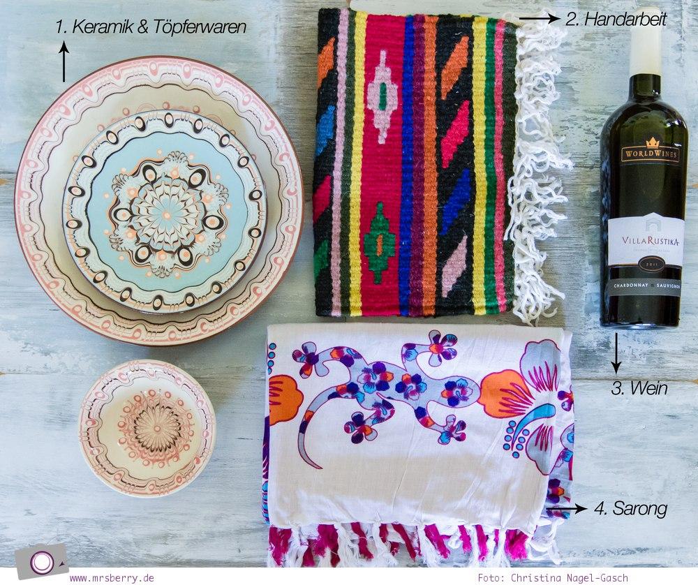 Souvenirs aus Bulgarien: Keramik, Handarbeit, Wein und Sarong