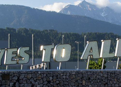 Wattens in Tirol: die Swarovski Kristallwelten
