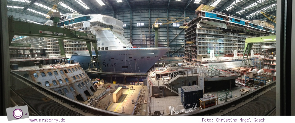 Besichtigung der Meyer Werft in Papenburg