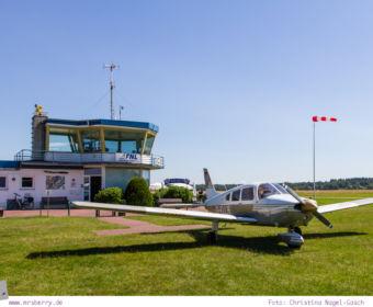 Emsland: Rundflug mit einem Motorflugzeug über Nordhorn-Lingen