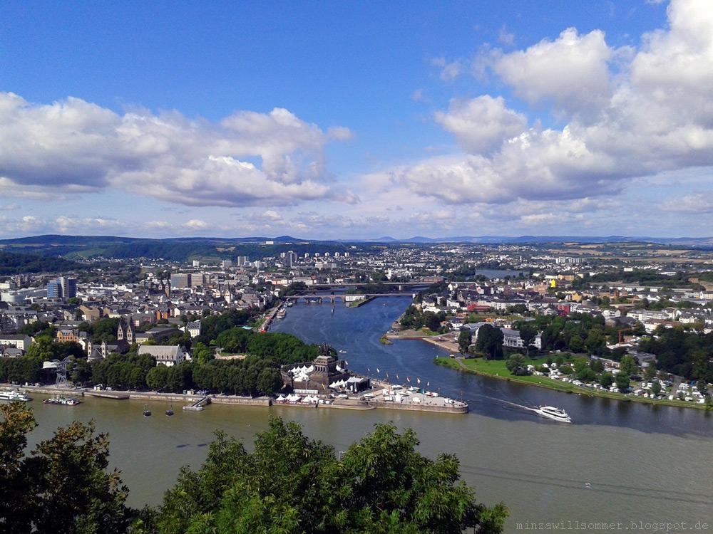 Koblenz: Rhein in Flammen 2014