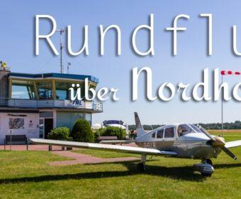 Rundflug über Nordhorn