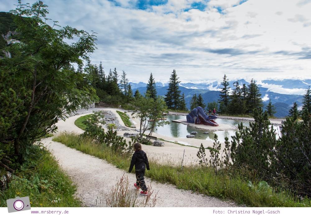 Triassic Park auf der Steinplatte Waidring in Tirol, Pillerseetal