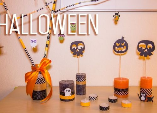 DIY: Halloween Deko basteln