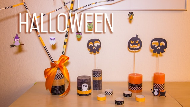 diy halloween dekoration selbst basteln. Black Bedroom Furniture Sets. Home Design Ideas