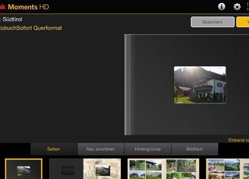 Kodak Moments App – Fotobuch vom Tablet oder Smartphone