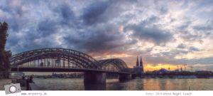 Photokina 2014: Abenddämmerung in Köln