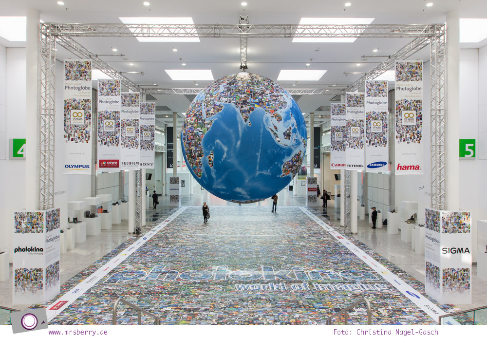 Photokina 2014: der weltgrößte Photoglobus