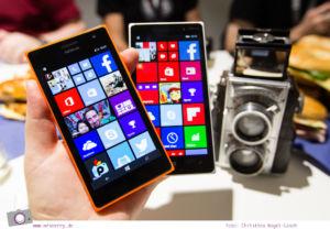 Photokina 2014: Nokia Lumia 735 und Nokia Lumia 830