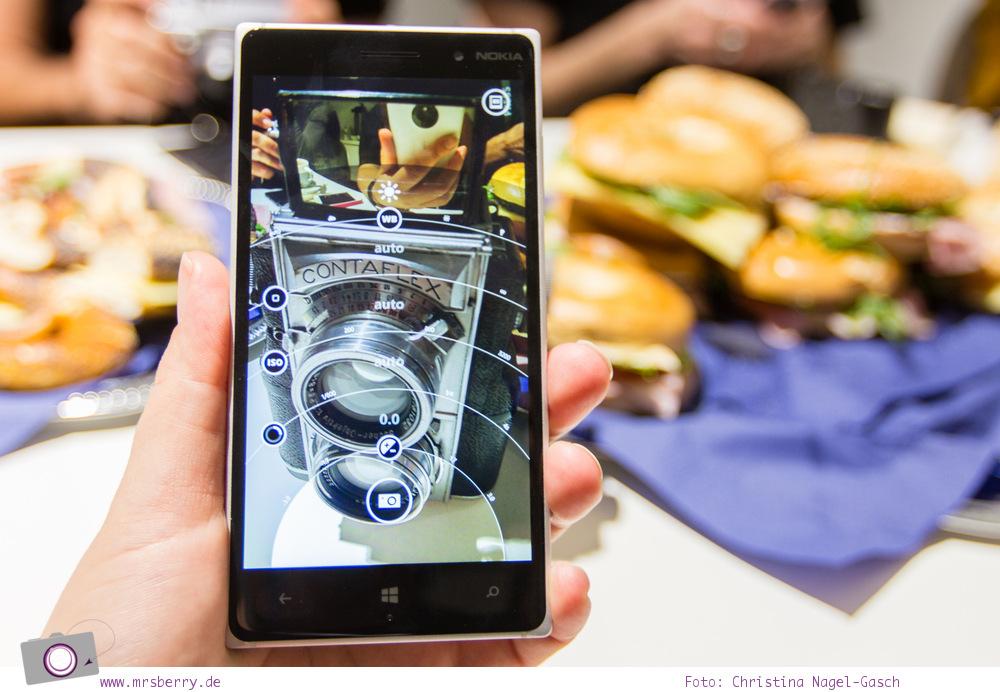 Photokina 2014: manuelle Kameraeinstellung am Nokia Lumia 830