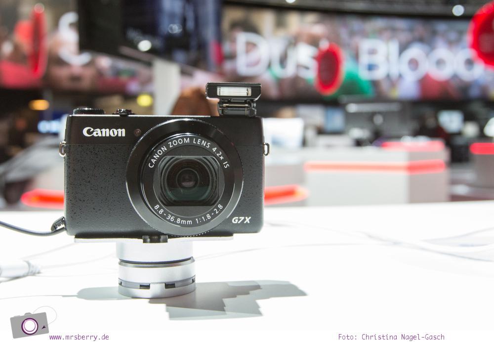 Photokina 2014: Objekt der Begierde - die Canon G7 X
