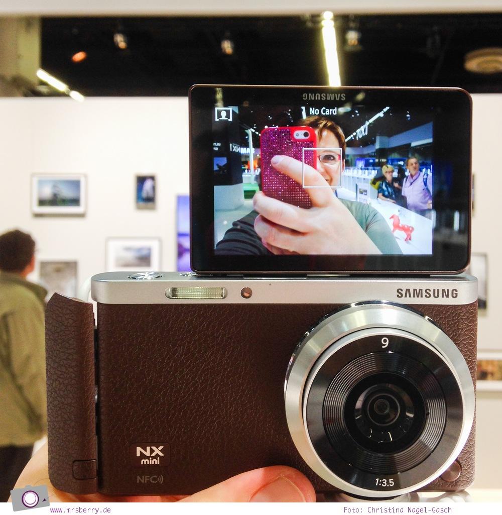 Photokina 2014: Kamera im Hosentascheformat, die Samsung NX1 mini