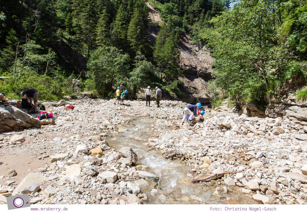 Wandern mit Kindern: Bletterbachschlucht in Südtirol