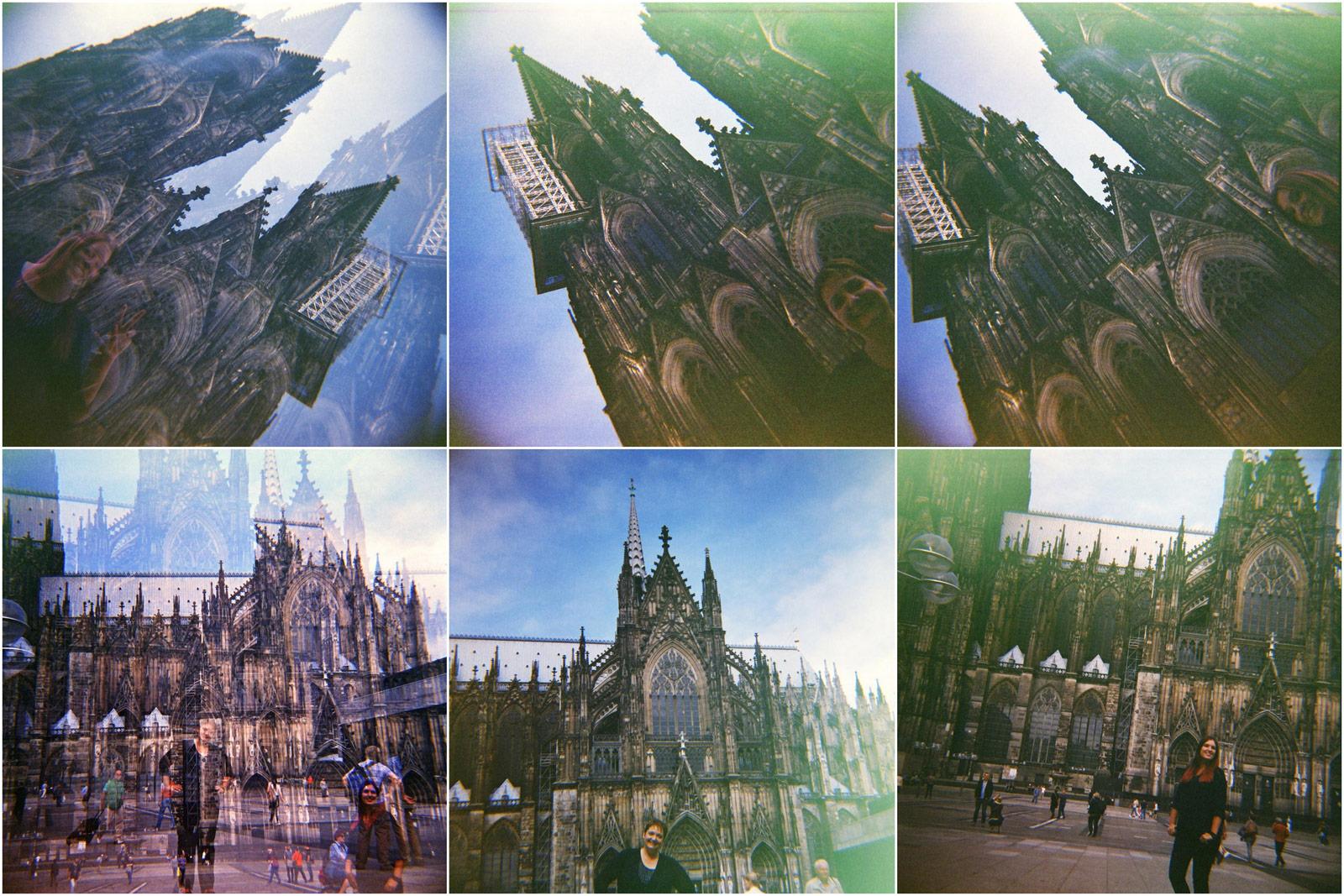 Lomo Liebe - Köln analog (Lomography) - teilweise mit Doppelbelichtung