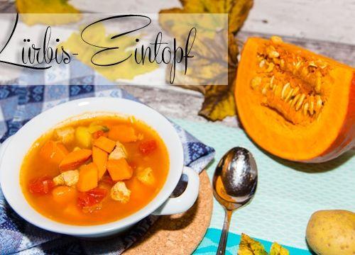 Herbst Rezept: deftiger Kürbis-Eintopf