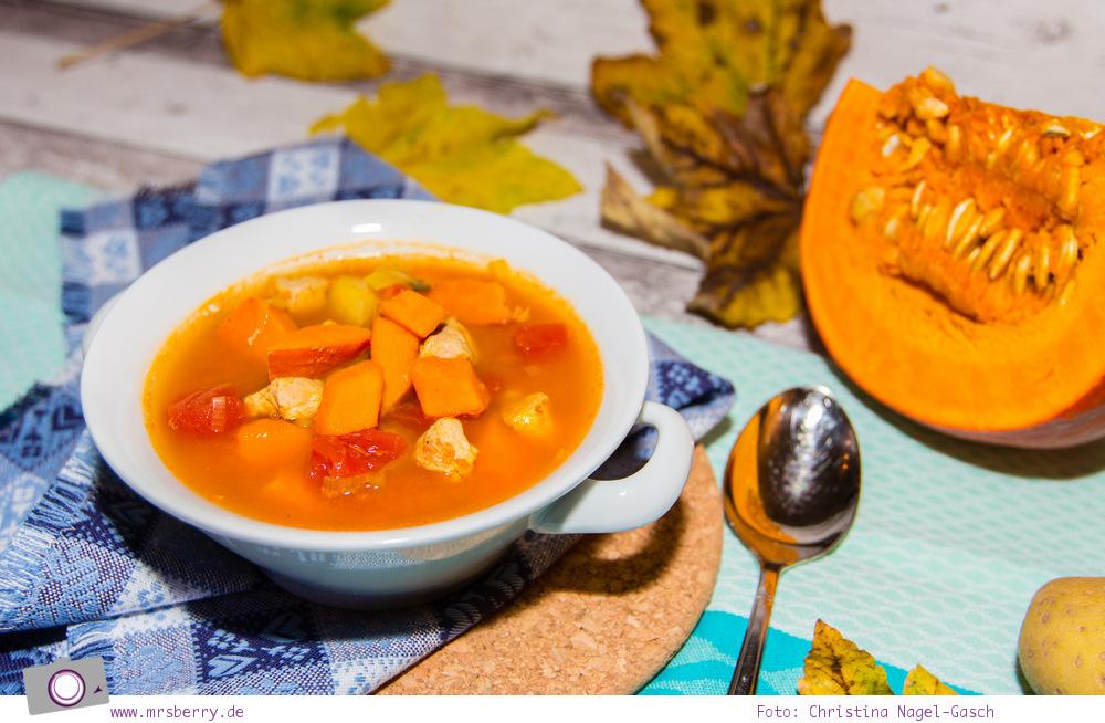 Herbst Rezept: Kürbis-Eintopf