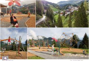 Tirol mit Kind: Sommer in Serfaus - Spielplatz in Serfaus
