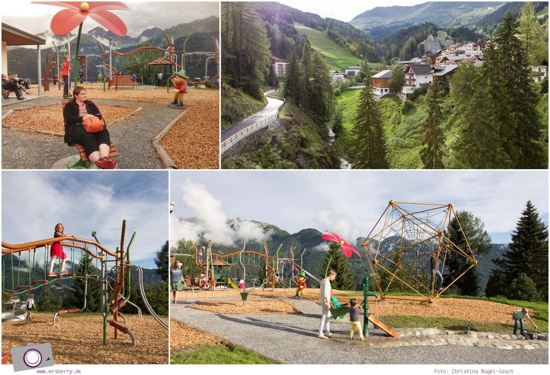 Sommer in Tirol: Serfaus mit Kind - Spielplatz in Serfaus