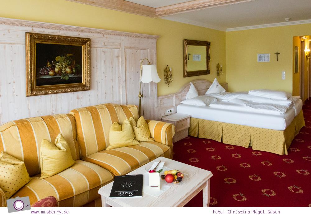 Sommer in Tirol: Serfaus mit Kind - Zimmer im Wellnesshotel Cervosa Serfaus