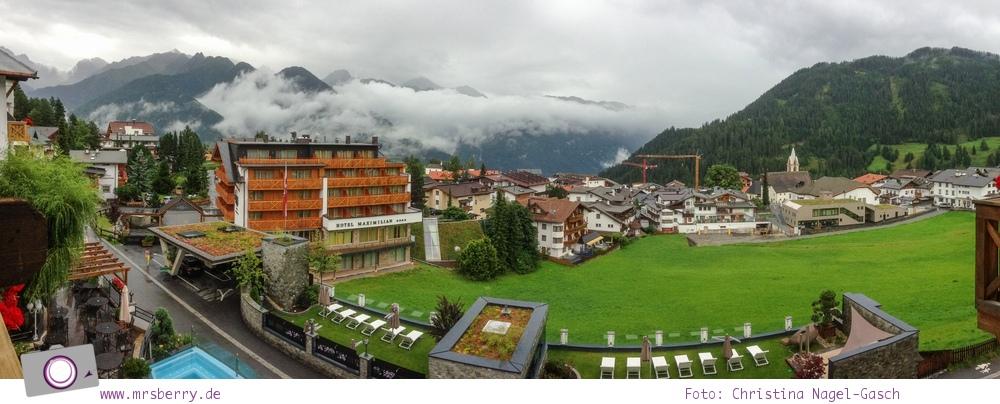Sommer in Tirol: Serfaus mit Kind - Ausblick vom Wellnesshotel Cervosa