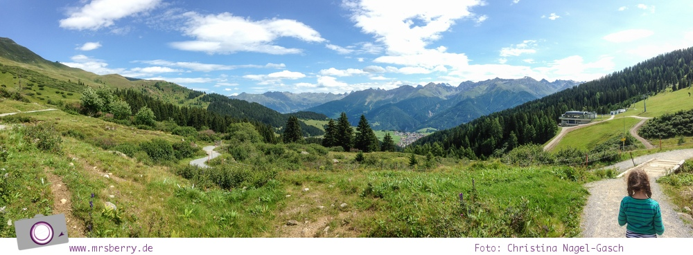 Sommer in Tirol: Serfaus mit Kind - Panorama Genussweg
