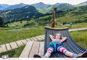 STirol mit Kind: Sommer in Serfaus - Panorama Genussweg