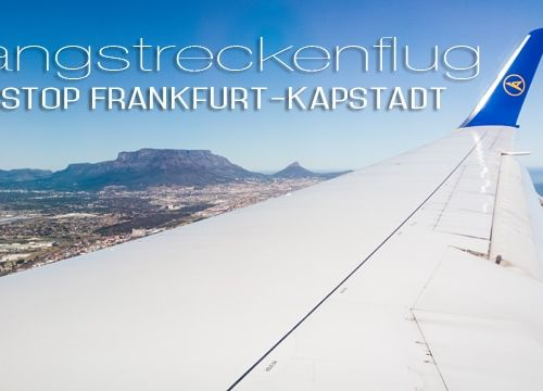 Südafrika #1: mit Condor nonstop von Frankfurt nach Kapstadt